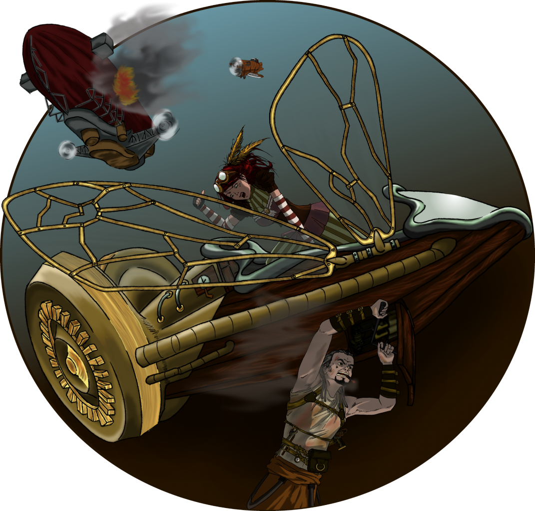 Steampunk flight